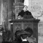 Frances Willard, 1894, at St. Margaret's Church, Horsmonden, Kent, England