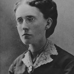 Frances Willard, age 32, Sept 16, 1872, Northwestern University Dean of Women