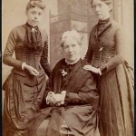 Frances Willard with Anna Gordon (left) and Mother Willard (center)