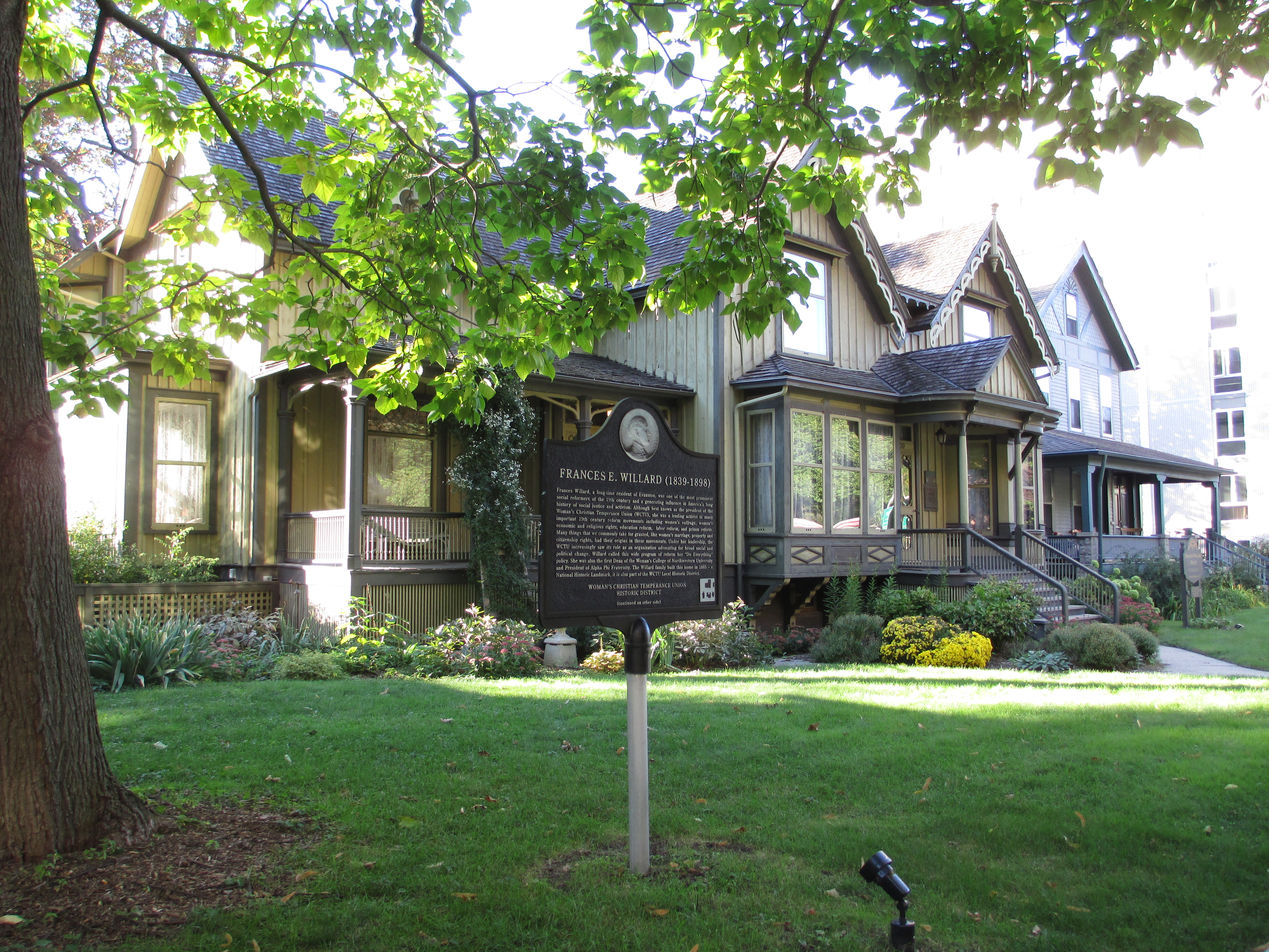 Willard House Frances Willard House Museum Archives