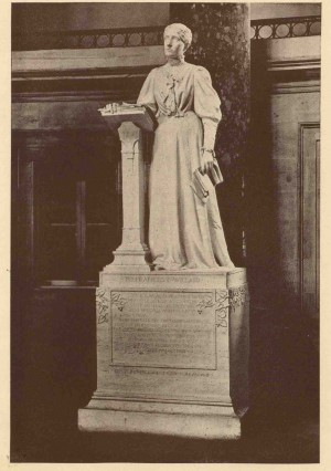 Willard's statue in Statuary Hall, Washington D.C.