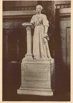 Willard's statue in Statuary Hall, Washington D.C.