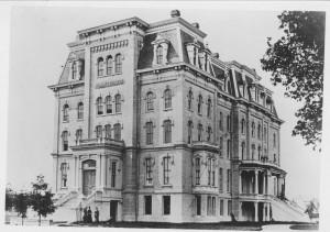 Woman's College, now Willard Hall on Northwestern's campus, Evanston, IL