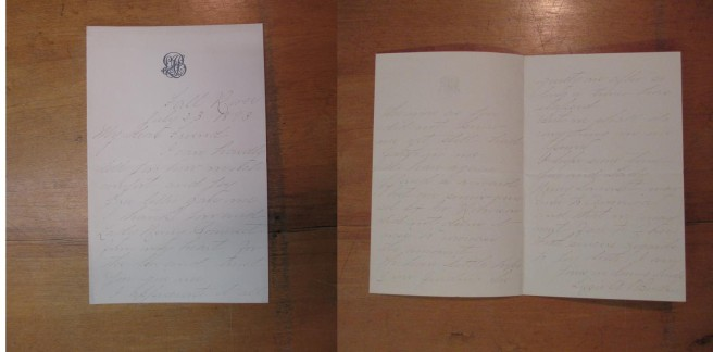 Letter written to Frances Willard and Lady Henry, July 23, 1893