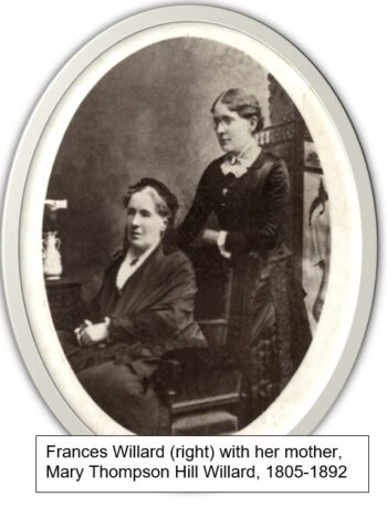Willard and her mother
