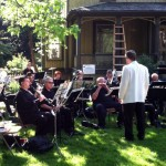 Ridgeway Band, Suffrage Rally, 2013