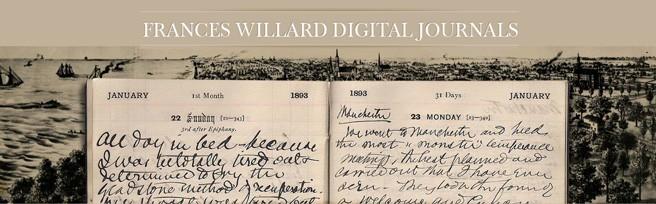 Frances Willard Digital Journals